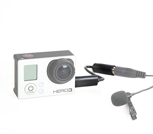 Movo GMA100 3.5mm Female Microphone Adapter Cable to fit the GoPro HERO3, HERO3+ & HERO4 Black, White & Silver Editions by Movo (Image #2)