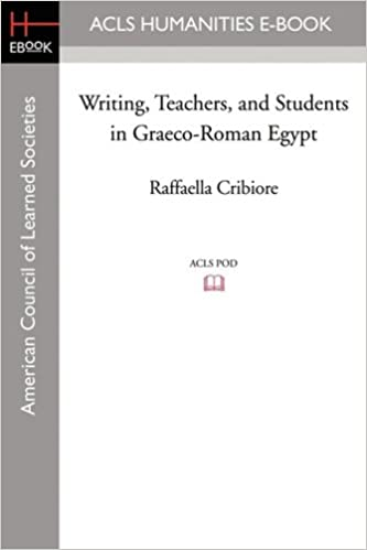 writing-teachers-and-students-in-graeco-roman-egypt-american-studies-in-papyrology