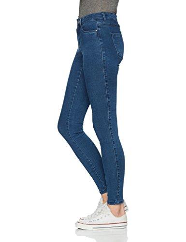 Blu Only Denim Skinny Donna Jeans Blue medium Z0tPStgwq