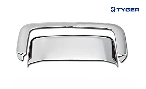 Tyger Auto TYGER ABS Triple Chrome Plated Tail Gate Handle Cover Fits 00-06 GMC Yukon/Yukon XL/01-06 Denali/00-06 Chevy Suburban/Tahoe Tailgate Without Keyhole