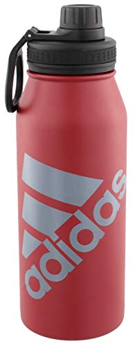 adidas 18/8 Stainless Steel 1 Liter Hot/Cold Insulated Metal Bottle (32oz)