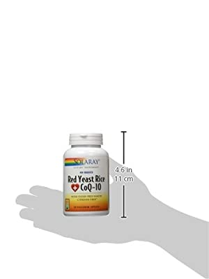 Solaray - Red Yeast Rice Plus CoQ