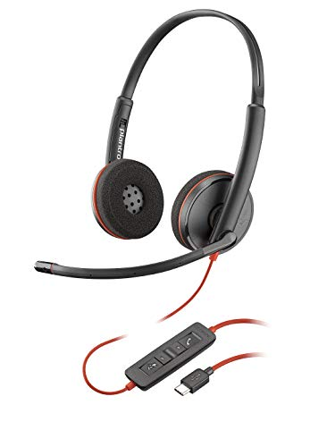 🥇 Plantronics Blackwire 3220 Binaural Diadema Negro – Auriculares con micrófono