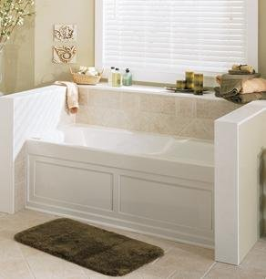 Jacuzzi Whirlpool CET6032ALR2XX Cetra Pure Air Alcove Tub Oyster