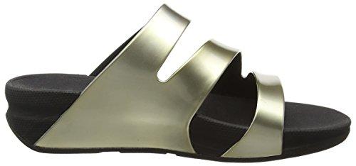 Sandalias Dorado Mirror Fitflop Twist Gold Para Mujer Superjelly wA8XBq8E
