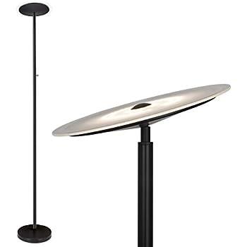 190 Watt Halogen Torchiere Floor Lamp 71 Quot H Burgundy With