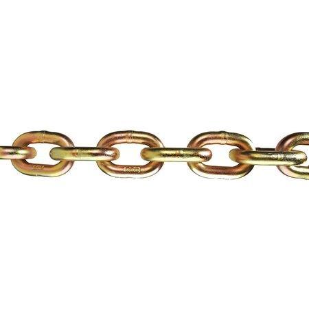 Chain, Grade 70, 3/8 Size, 20 ft., 6600 lb.