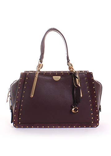 COACH Women's Dreamer in Rivets B4/Oxblood One Size -