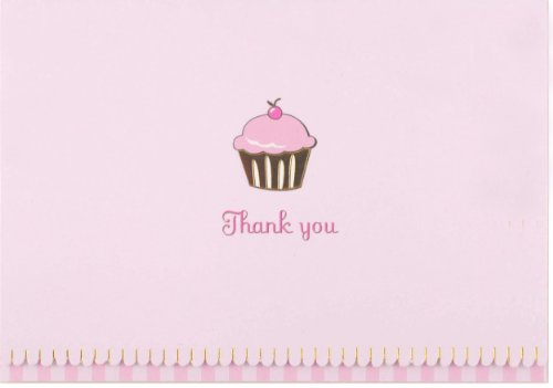 Cupcake Thank You Notes (Stationery, Note Cards)