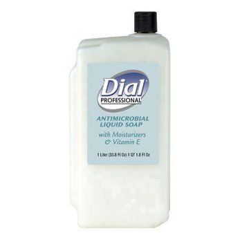 1l Refill Bottle - Liquid Dial Liquid Dial Antimicrobial with Moisturizers and Vitamin E, 1-Liter Refill - eight 1 liter bottles per case.