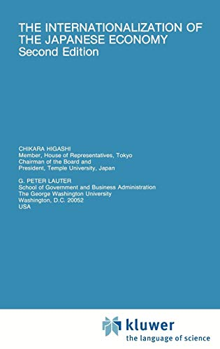 The Internationalization of the Japanese Economy (Developments in Oncology; 59)