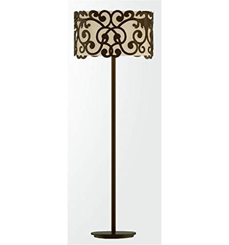 Lámpara de pie de forja Ana - Azul: Amazon.es: Hogar