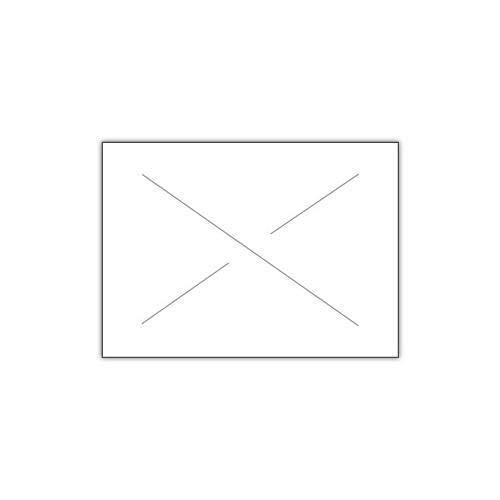 Garvey 2216-07000-CS, GX2216 General Purpose White Label (Case of 180000 Labels)