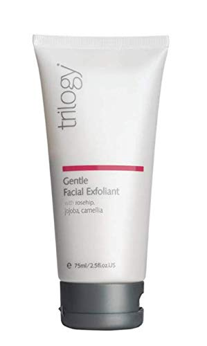 (TRILOGY Gentle Facial Exfoliant 75ml- Refining its Texture and improving Clarity Without Irritation or compromising The Skin's Natural Barrier Function.)