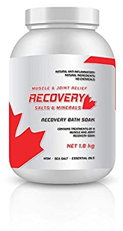 Muscle & Joint Pain Relief Salts & Minerals Recovery Bath Salts (Small, 250g) Recovery Products