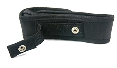 LanLan Medium Flashlight Holster Belt Carry Case fits 501b, 502b, C8 Flashlights
