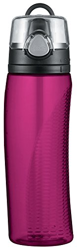Thermos Hydration Water Bottle with Meter, Magenta, 710 ml