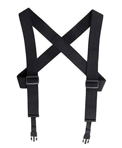 Rothco Combat Suspenders, Black