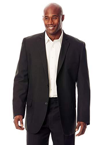 KS Signature Easy Movement Two-Button Jacket, Black Big-56