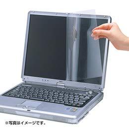【まとめ 4セット】 サンワサプライ 23.0型ワイド対応ブルーライトカット液晶保護フィルム LCD-230WBC   B07KNRRYH5