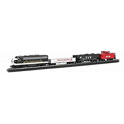 Bachmann Trains Thoroughbred Ready-to-Run HO Scale Train Set: Toys & Games