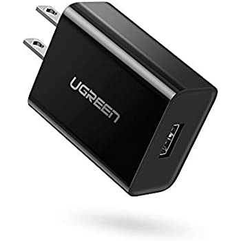 UGREEN Quick Charge 3.0 Wall Charger 18W USB Adapter for Samsung Galaxy S10, Moto Z4 G7, LG G8S ThinQ, HTC Wildfire X U19e, ZTE Axon 7 Max, Lenovo ZUK ...