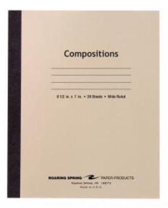 Roaring Spring Paper Products 77340 Flex Cover Comp Book - 288 Per Case