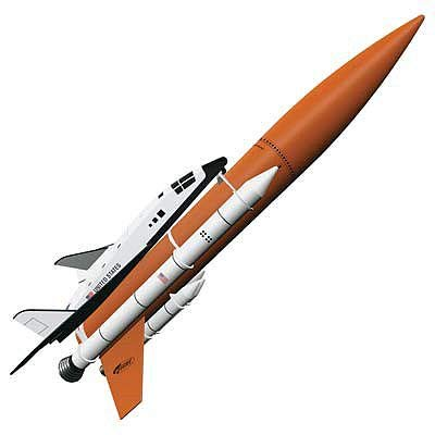 Estes Rockets 7246 Shuttle Model Rocket Kit, Skill Level 5, Brown/A