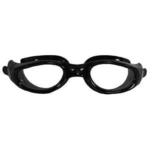 Aqua Sphere Kaiman Swim Goggle (Small, Clear Lens/Blue Frame)