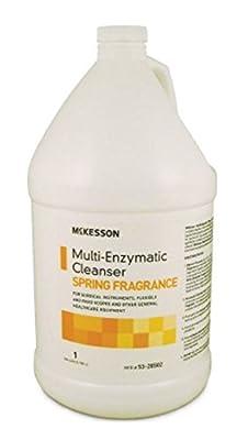 McKesson - Multi-Enzymatic Instrument Detergent - Liquid - 1 Gallon - Jug - Spring Fresh Scent