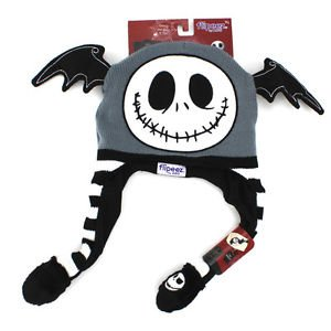 Nightmare Before Christmas Jack Skellington Flipeez Action Knit Hat (Child  -- One Size Fits e9d6977e51ab