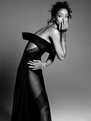 Rihanna 24X36 Poster Print LHW #LHG752447