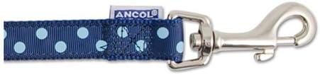 Ancol Vintage Polka Lead Mocha 1mx19mm