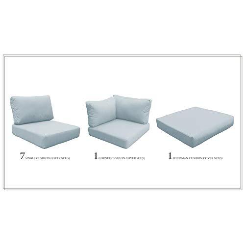 TK Classics High Back Cushion Set for FAIRMONT-12b