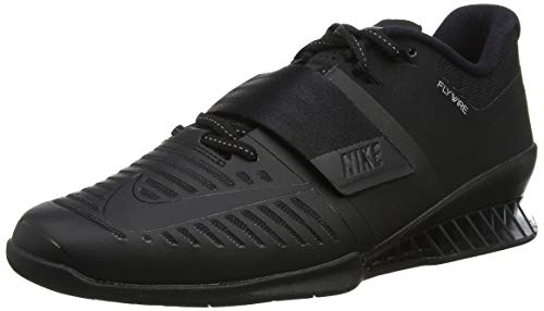 Nike Romaleos 3 852933 004 Black/Black/Black Men's Weight Lifting Shoes (10)