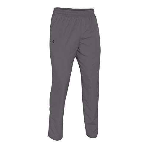 Under Armour Men's Vital Warm-Up Pants, Graphite /Black, Large