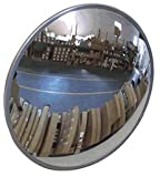 #1 Industrial Rated 36'' Dia. Acrylic Indoor/Outdoor Safety & Security Convex Mirror Made in the USA