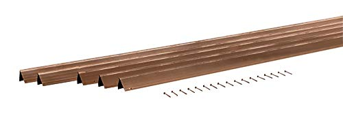 M-D Building Products 01305 36-Inch by 84-Inch H4 Door Weather-strip with Nails, Bronze