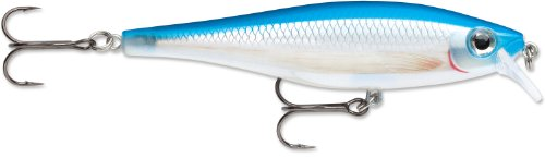 Rapala BX Minnow 10 Fishing Lure, Blue Pearl, 4-Inch