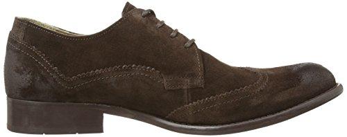 Fly London WILK - Zapatos de cordones de cuero para hombre Marrón - marrón oscuro