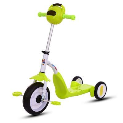 Patinete infantil con 3 ruedas 2 en 1 Niños, Patinete ...