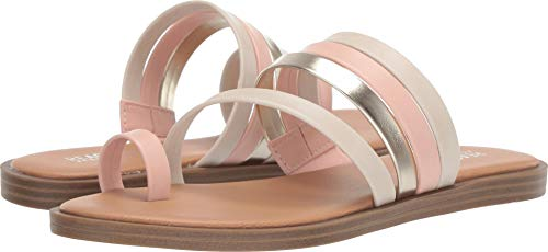 Kenneth Cole REACTION Women's Scroll Toe Loop Blush Synthetic 8 M US