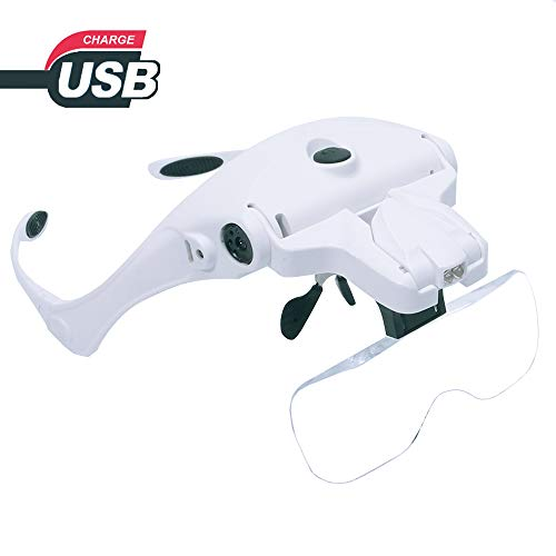 Headband Magnifier Charging Magnifying Replaceable product image
