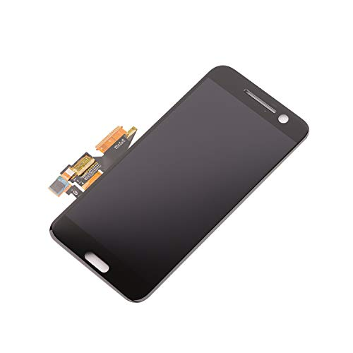 Assembly for HTC M10H 10 Lifestyle/One M10 5.2 inch LCD Display Screen Touch Screen Digitizer Full Replacement Part (Black) ()