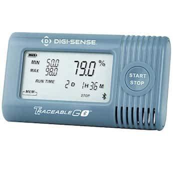 Digi-Sense 6537 Temperature/Humidity Data Logger with TraceableGO Wireless Capability and Calibration; Integral Sensors