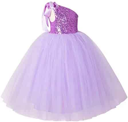 360e6e4adba ekidsbridal One-Shoulder Sequin Tutu Flower Girl Dress Wedding Pageant Dresses  Ball Gown Tutu Dresses