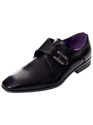 Belide New Mens Italian Designer Faux Leather Smart Casual Formal Shoes Sizes UK6-11 Black