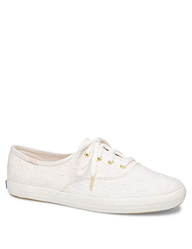 Keds Women's Champion Original Canvas Sneaker, white, 075 S US -