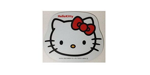 Die Ribbon - Hello Kitty Die Cut Mouse Pad (Red Ribbon Face)