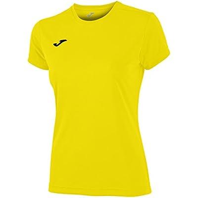Joma Combi Woman M/C Camiseta Deportiva para Mujer de Manga Corta y Cuello Redondo